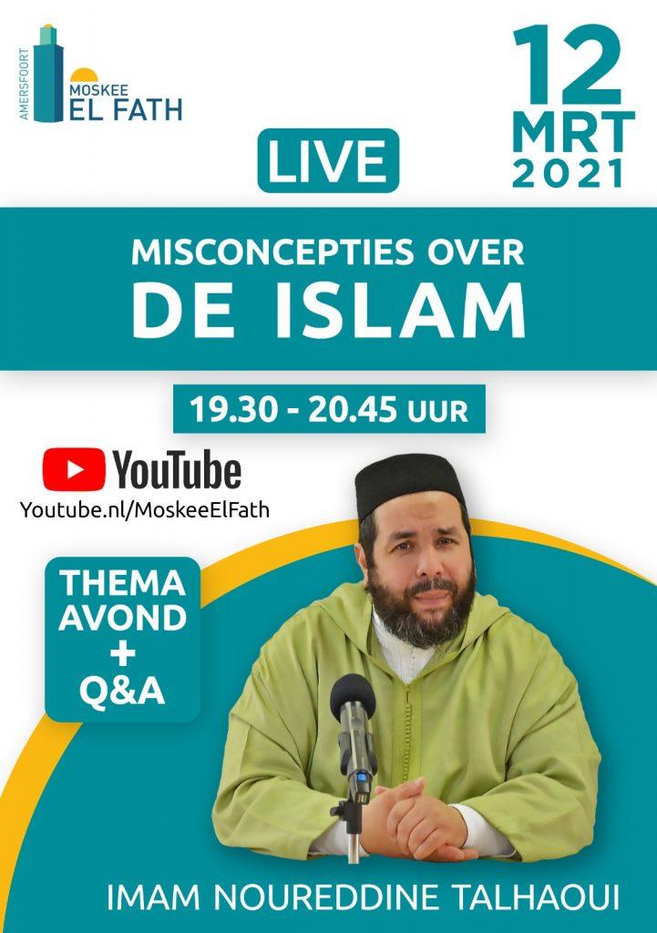 Thema Avond: Misconcepties over de Islam